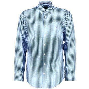Gant THE POPLIN GINGHAM pitkähihainen paitapusero