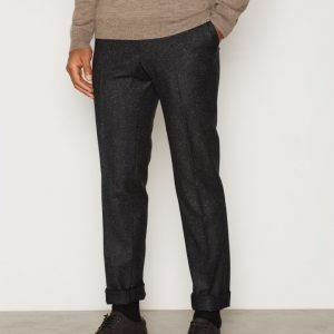 Gant Tailored Slim Wool Look Slacks Puvunhousut Graphite