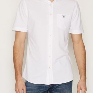 Gant Tech Prep Pique Shirt Pikeepaita White