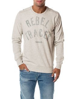 Garcia Jeans Rebel Traces Sweat White Melee