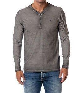 Garcia Jeans Stripe Shirt Light Grey