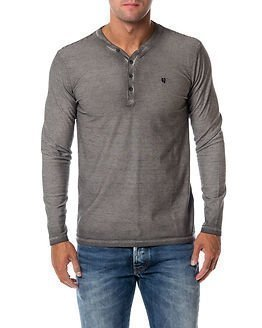 Garcia Jeans Stripe Shirt Light Grey