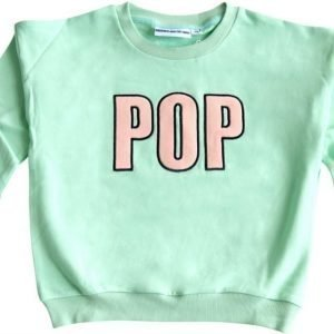 Gardner and the gang Pusero The classic sweater Pop Embroidery Mint