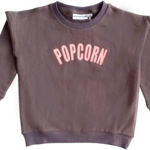 Gardner and the gang Pusero The classic sweater Popcorn Charcoal