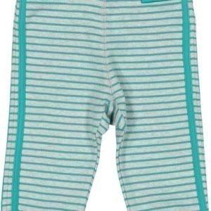 Geggamoja Housut Baby Pants Harmaameleerattu/Turkoosi Turquoise