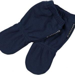 Geggamoja Lapaset Wind Fleece Glove Tummansininen