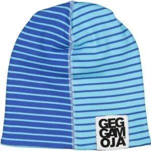 Geggamoja Pipo Two Color Cap Fleece Sininen/Turkoosi Blue