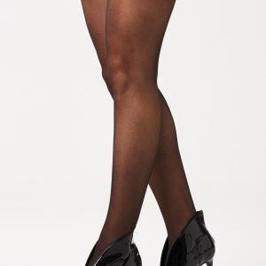Gina Tricot 20 Den Sukkahousut Black 2-Pakkaus