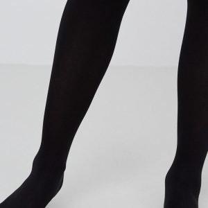 Gina Tricot 60 Den Sukkahousut Black 2-Pakkaus