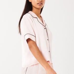 Gina Tricot Alma Pyjamas Shorts Pyjamashortsit Pearl
