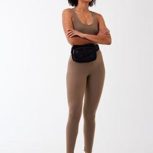 Gina Tricot Amber Sport Highwaist Leggings Leggingsit Greige