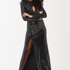 Gina Tricot Beatrice Maksimekko Black Glitter