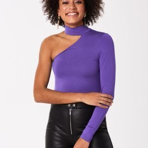 Gina Tricot Bonnie One Shoulder Top Toppi Ultra Violet