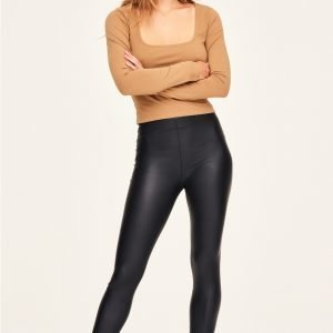 Gina Tricot Candy Leggingsit Black