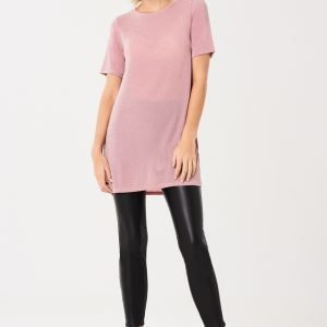 Gina Tricot Carmen T-Shirt Dress Mekko Pink Haze