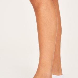 Gina Tricot Chenille Ballerina Socks Sukat Pink / White 2-Pakkaus