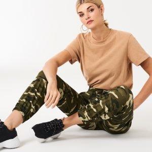 Gina Tricot Clara Cargo Trousers Housut Camo