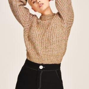 Gina Tricot Cora Knitted Glitter Sweater Neulepusero Multi Glitter