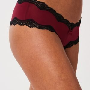Gina Tricot Day Brazilian Alushousut Rumba Red
