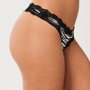 Gina Tricot Day String Stringit Small Zebra