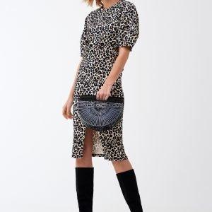 Gina Tricot Dilan Skirt Hame Leopard