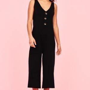 Gina Tricot Ellen Knitted Haalari Black