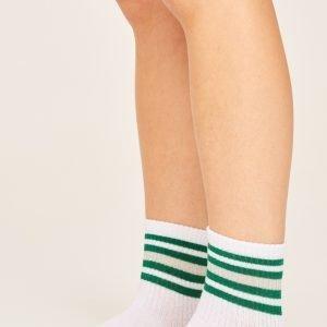 Gina Tricot Evy Sukat Green Stripe