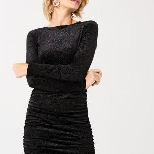 Gina Tricot Fiona Mekko Black Glitter