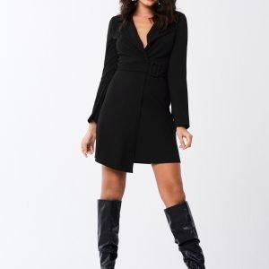 Gina Tricot Flora Blazer Dress Mekko Black