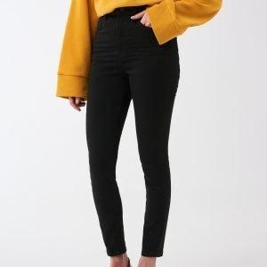 Gina Tricot Gina Petite Jeans Farkut Black