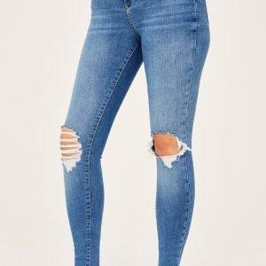 Gina Tricot Gina Tall Jeans Farkut Lt Blue Dest F