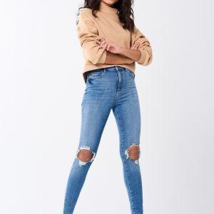 Gina Tricot Gina Tall Jeans Farkut Lt Blue Dest G