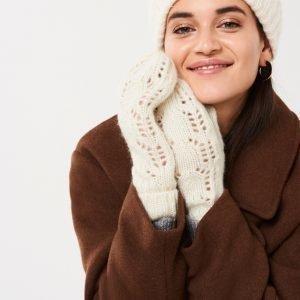 Gina Tricot Hanna Neulelapaset Warm White