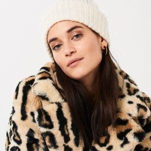 Gina Tricot Hanna Neulepipo Warm White