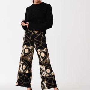Gina Tricot Ines Culotte Housut Chain / Aop