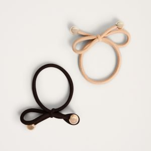 Gina Tricot Irma Hair Band Hiuspanta Brown / Camel