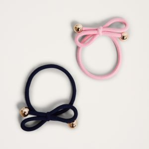 Gina Tricot Irma Hair Band Hiuspanta Navy / Rose