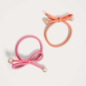 Gina Tricot Irma Hair Band Hiuspanta Orange / Pink