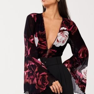 Gina Tricot Jessica Body Floral Aop