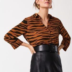 Gina Tricot Kajsa Paitapusero Tiger / Aop