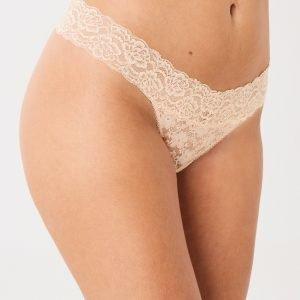 Gina Tricot Lana String Stringit Soft Cream