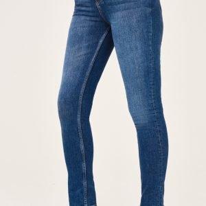 Gina Tricot Leah Tall Jeans Farkut Dk Blue F
