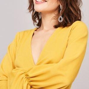 Gina Tricot Maggie Toppi Yellow