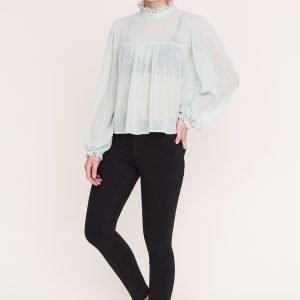 Gina Tricot Molly Highwaist Jeans Farkut Black