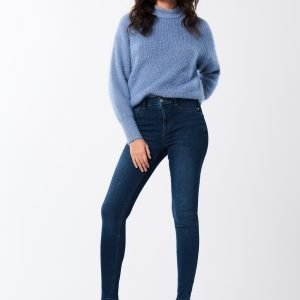 Gina Tricot Molly Highwaist Jeans Farkut Dk Blue F