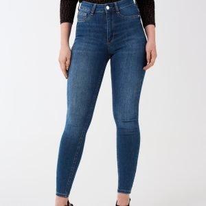 Gina Tricot Molly Petite Jeans Farkut Dk Blue F