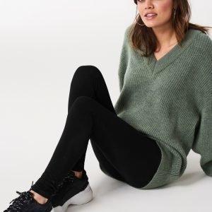 Gina Tricot Olivia Highwaist Leggings Leggingsit Black