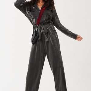Gina Tricot Ruby Boilersuit Haalari Silver