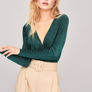 Gina Tricot Tea Twisted Body Green