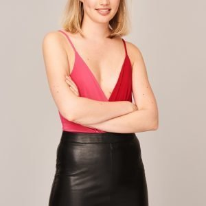 Gina Tricot Tissy Body Red / Pink